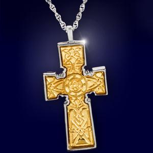Keltisches Kreuz-Anhänger