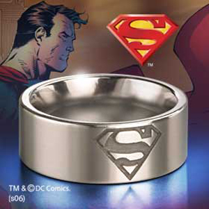 Superman-Stahl Ring