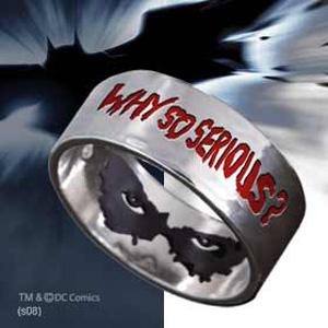 Batman The Dark Knight - Why So Serious - Ring Preisvergleich