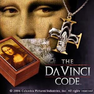 Da Vinci Code - Fleur-de-lis Ohrringe