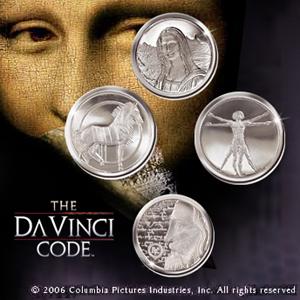 Da Vinci Code - Münzset