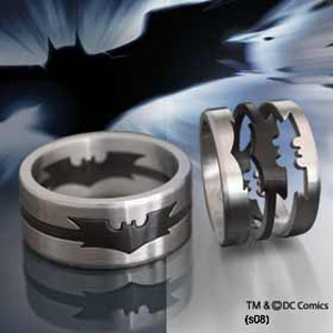Batman The Dark Knight - Puzzle Ring