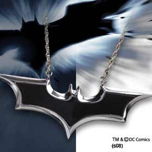 Batman The Dark Knight - Emblem Kette emailliert
