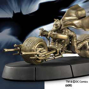 Batman The Dark Knight - Bat Pod Bronzeskulptur
