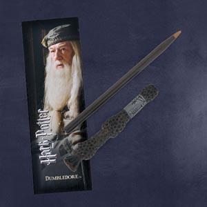 Dumbledore Zauberstabstift & Lesezeichen