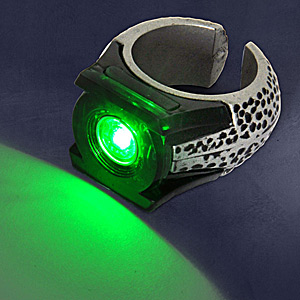 Green Lantern - Light Up Ring