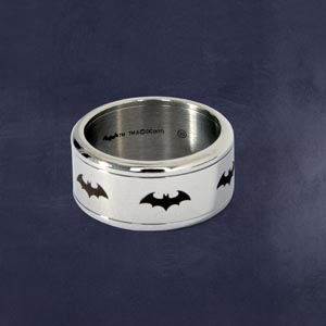 Batman Symbol Ring