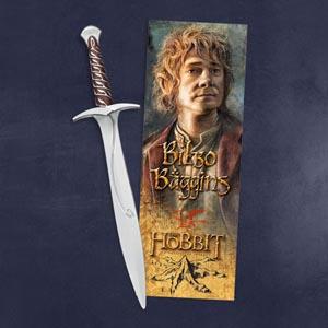 Der Hobbit - Schwert Stich - Stift mit 3D Lesezeichen