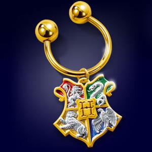 Hogwarts Hauswappen - Schlüsselring